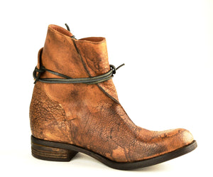 Lace around boot  |  Bison overdye