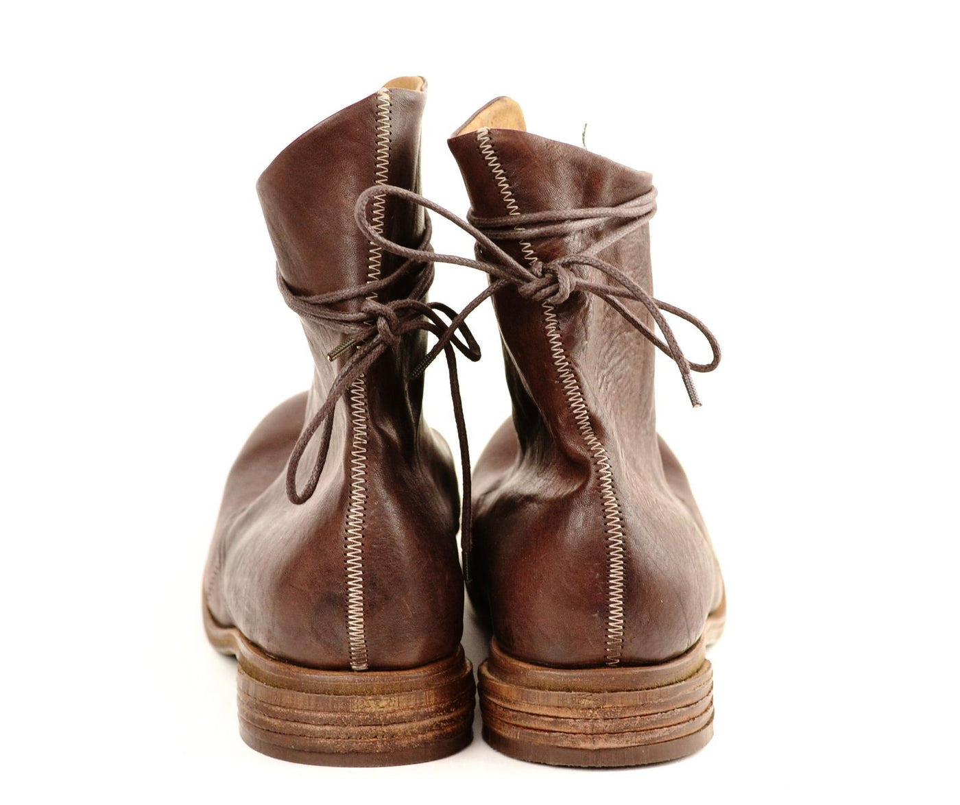 Derby Boot  |  Washed burgundy horse