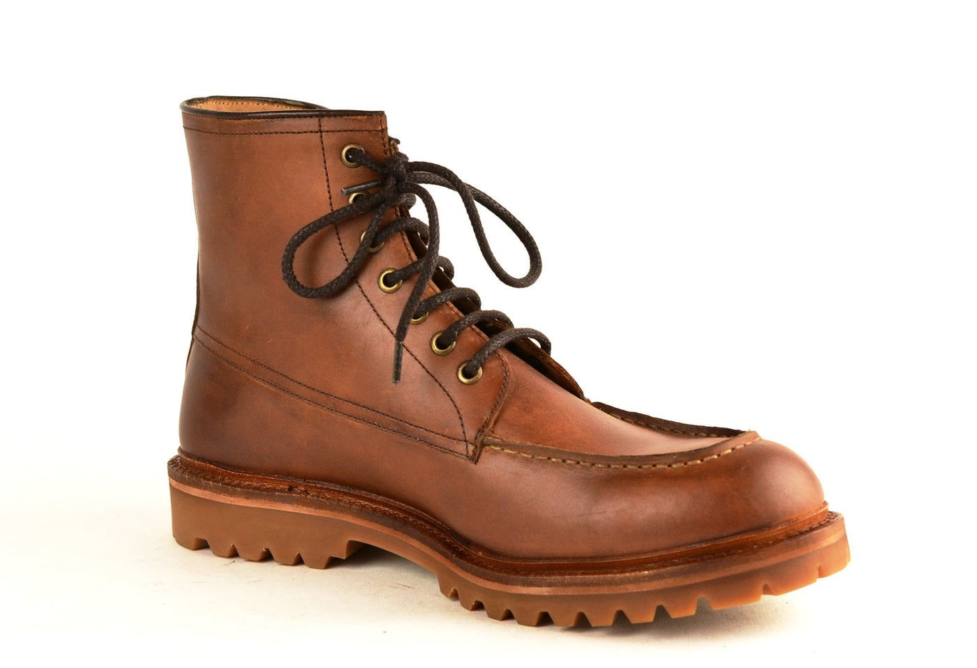 Lumberjack |  Brown oiled  | calf