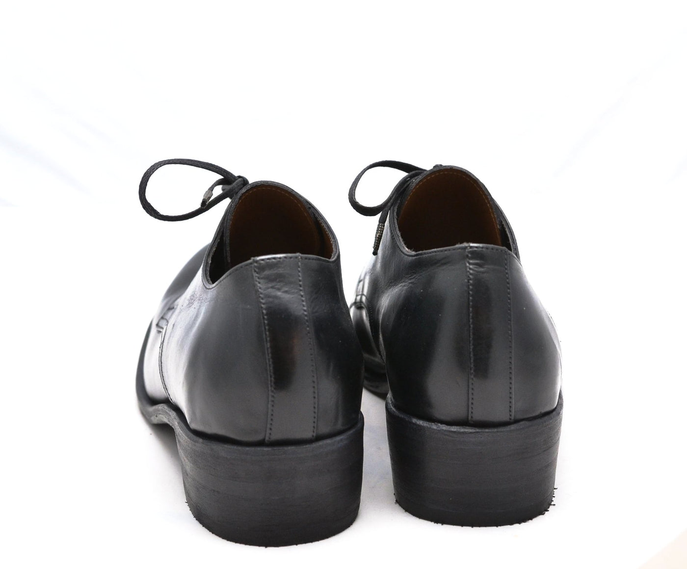 Derby Shoe / Black Calf