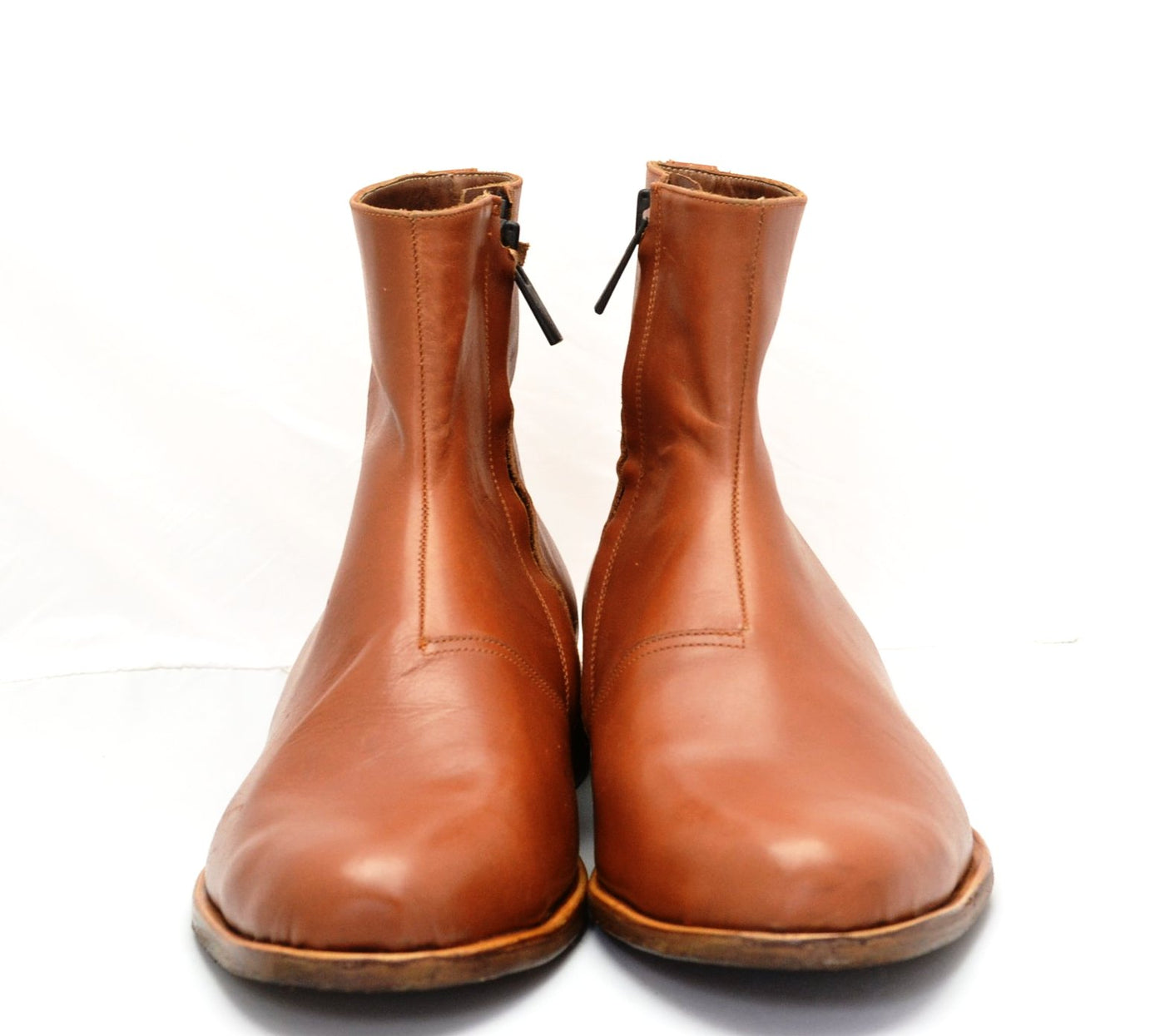 Zip Sided Boot  | Tan |calf