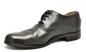 Asym Oxford  |  Black Cordovan