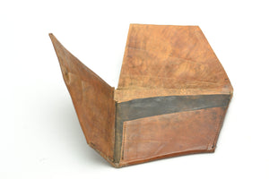 Rhomboid Wallet  | antique cognac culatta