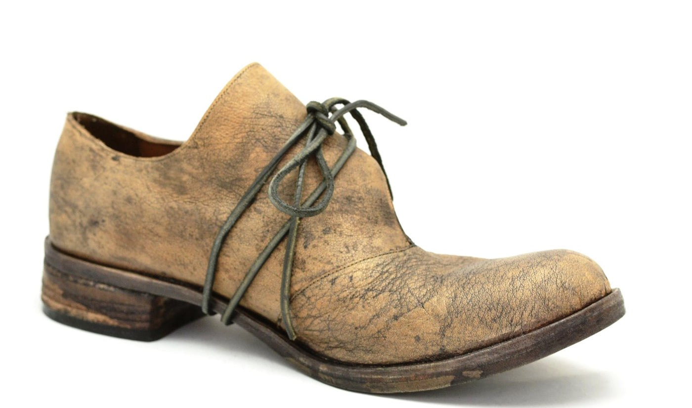 Foldover Shoe  |  bison stain