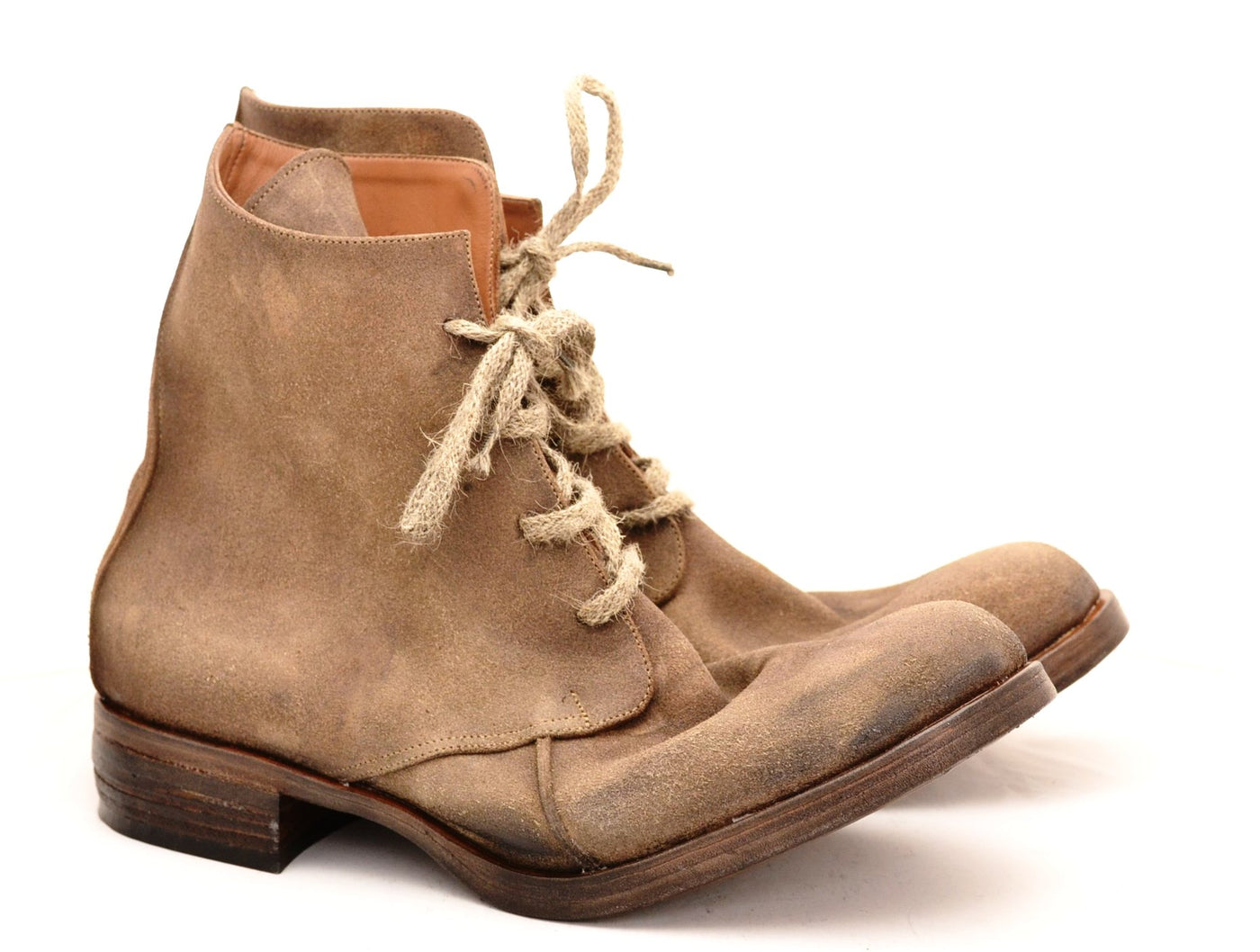 Derby Boot | Suede bison