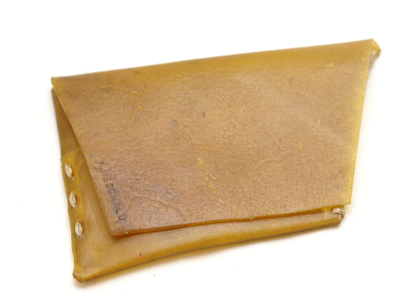 Card Wallet  | Yellow transparent yak