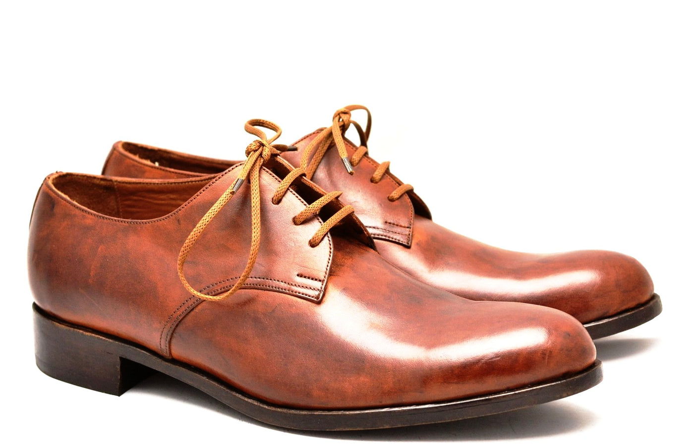 Derby shoe |Antique cognac cordovan