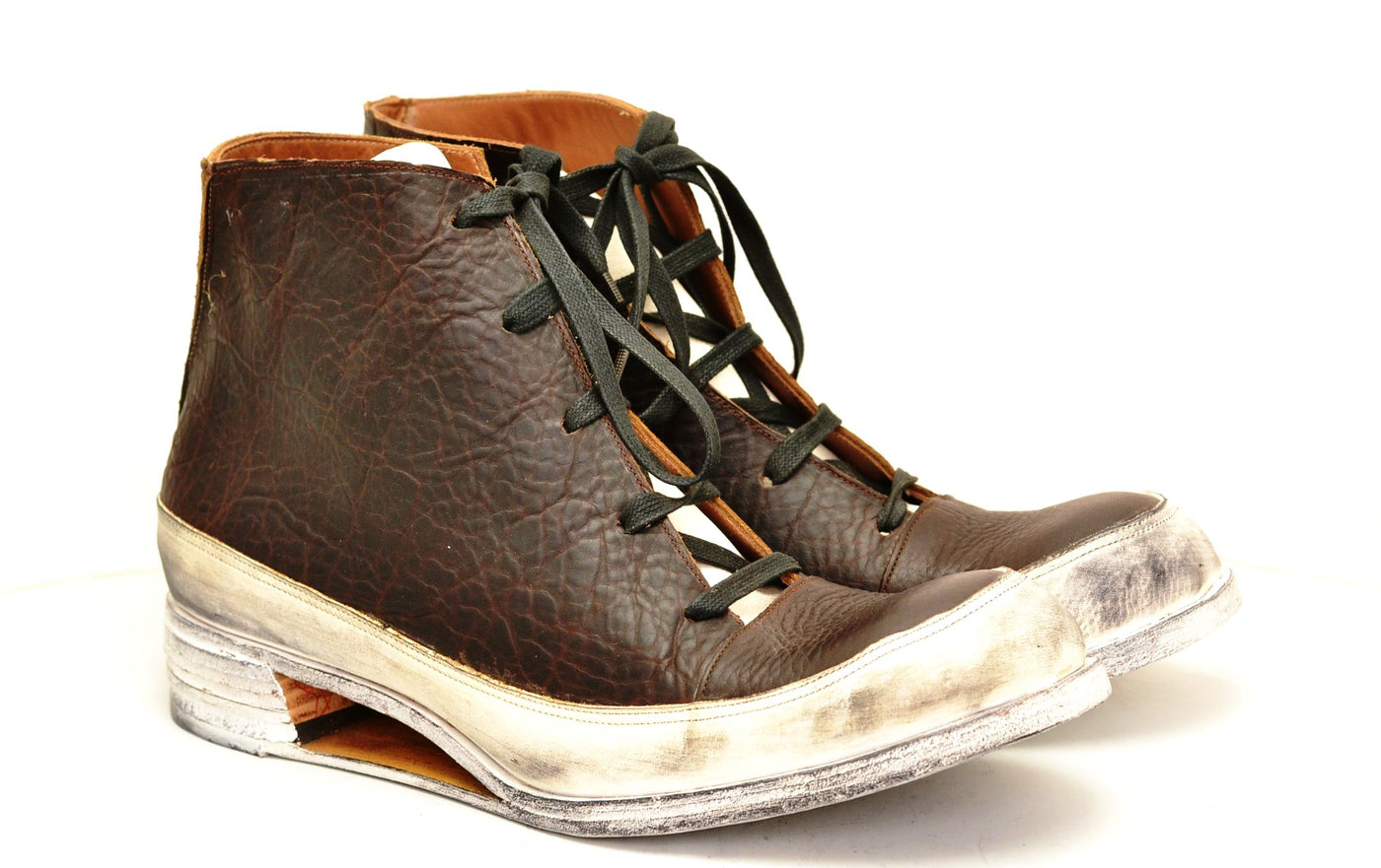 Sneaker boot  |  Hollow wedge Bison
