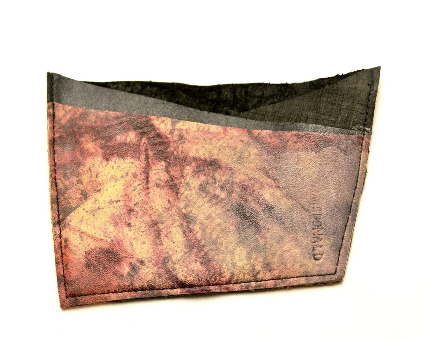 Card Wallet  |  tie-dye calf