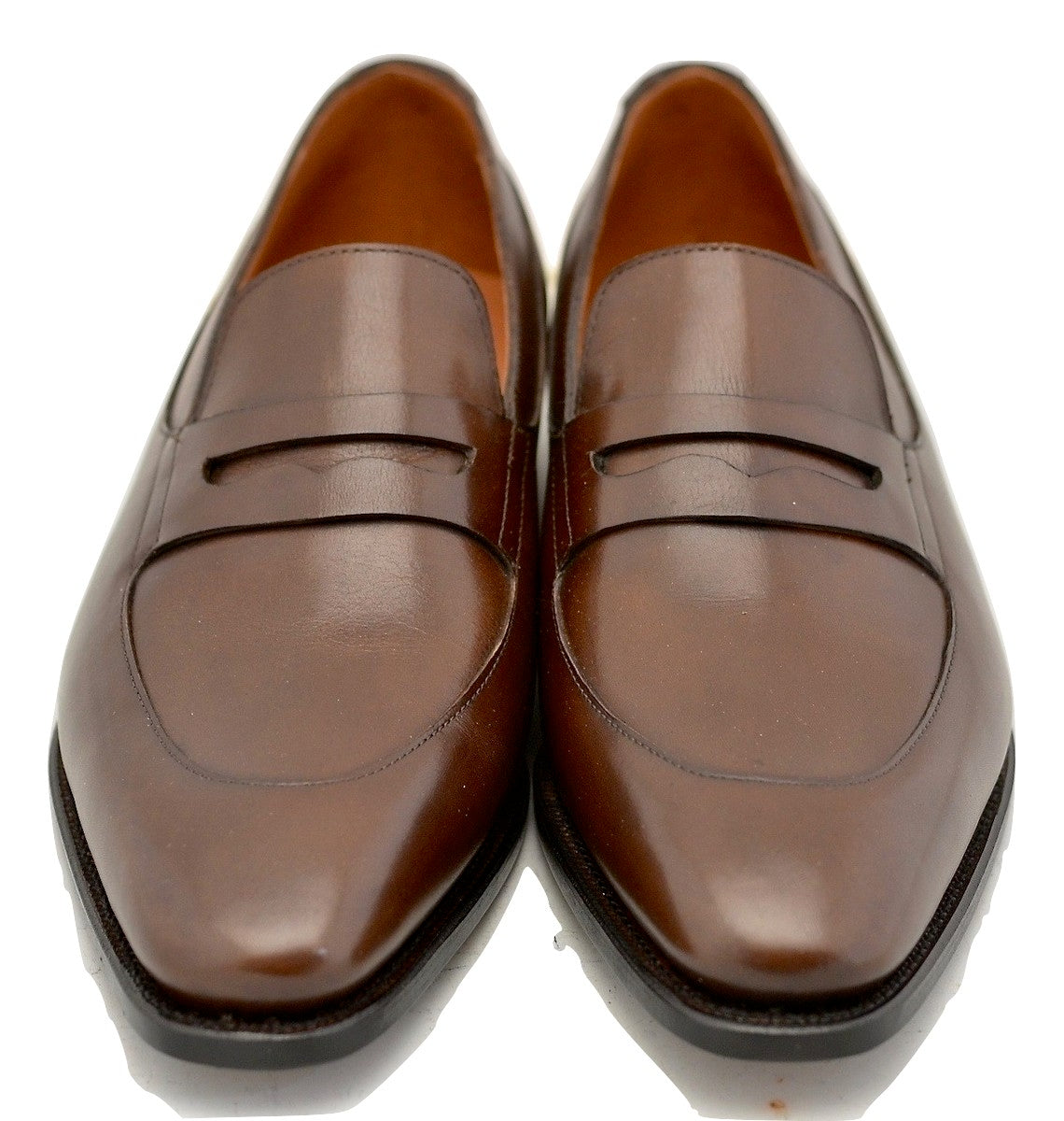 Apron loafer | dark brown box