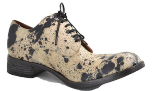 Derby Shoe / Dalmation calf