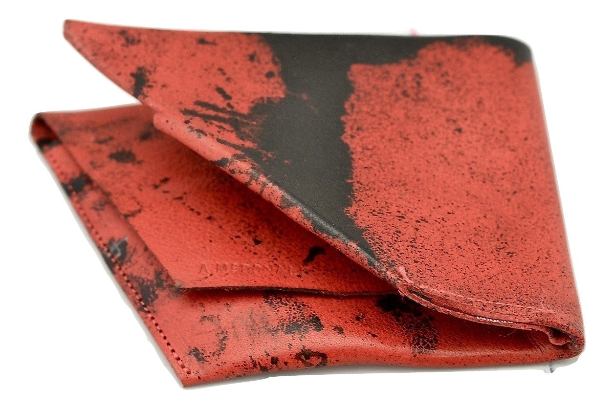 Wallet  |  Rhomboid crimson stain