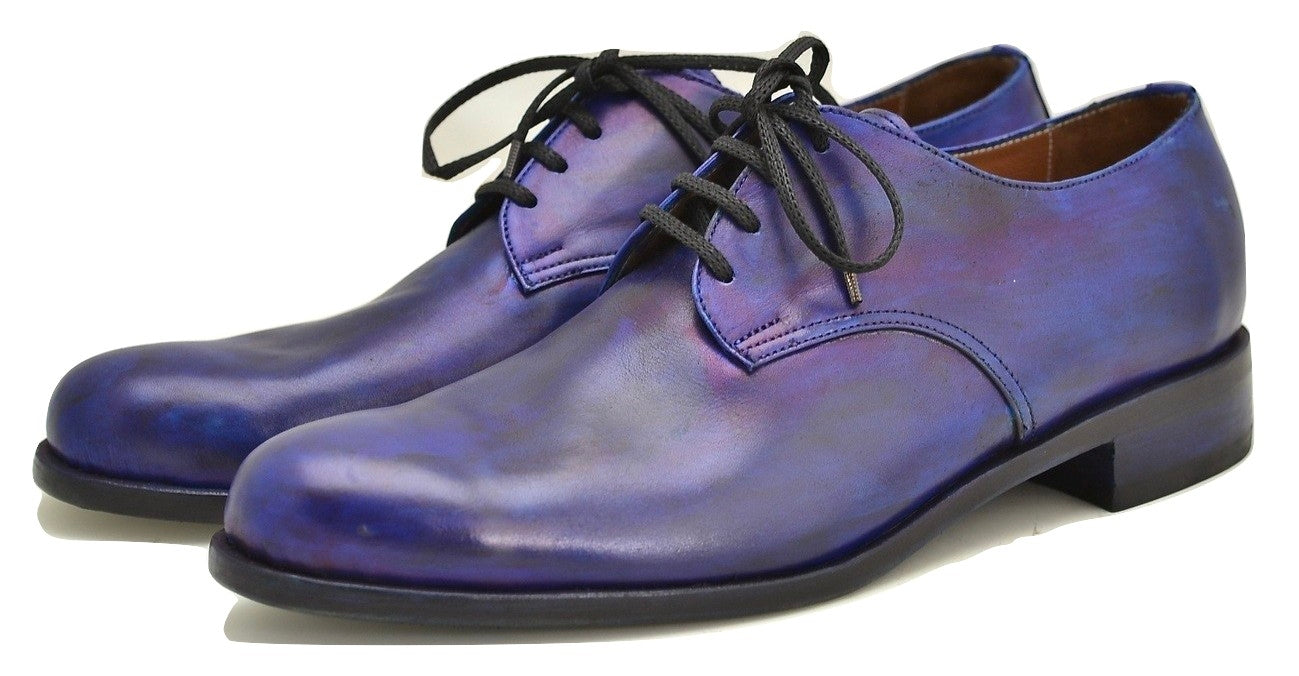 Derby shoe | Midnight blue calf