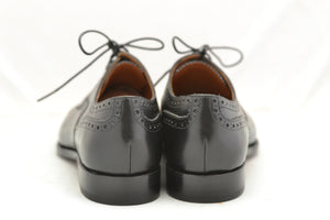 toe cap oxford derby  | Black box calf