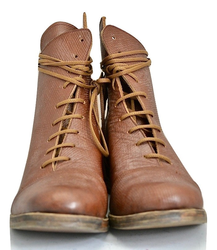 Fogey boot  |  brown Russian calf