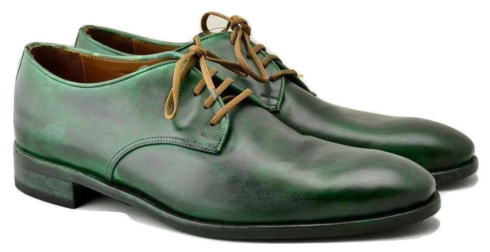 Derby shoe | shamrock calf extra wide fit