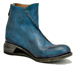 Zip back boot  |  grey yak
