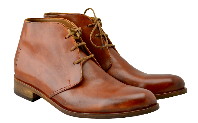 Desert Boot / tan calf