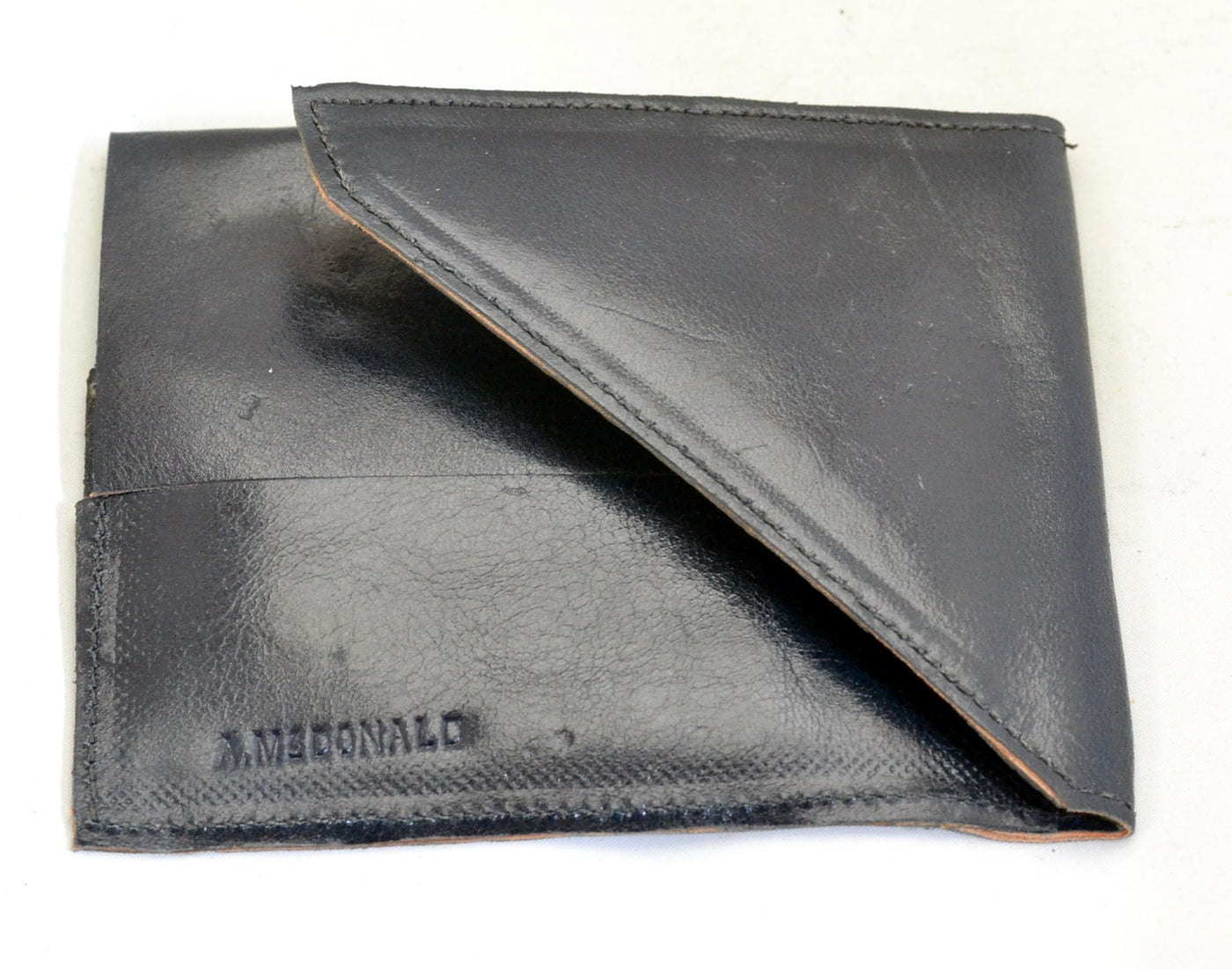 Wallet  |  rectangle navy cordovan