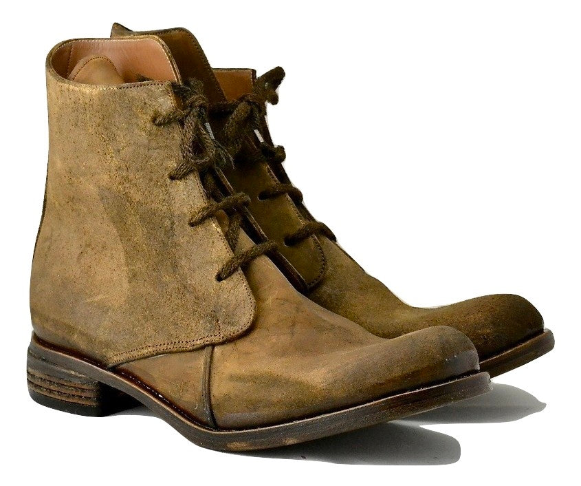 Derby Boot  |  brown rev culatta