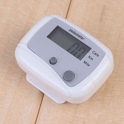 White Multifunction Pedometer