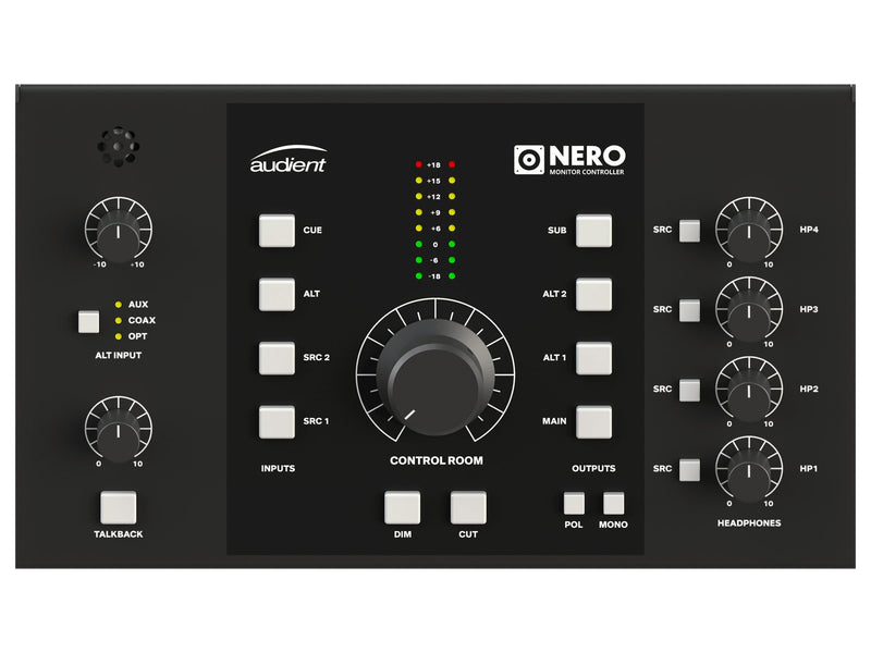 Audient Nero Controlador de Monitores Accesorios Audient