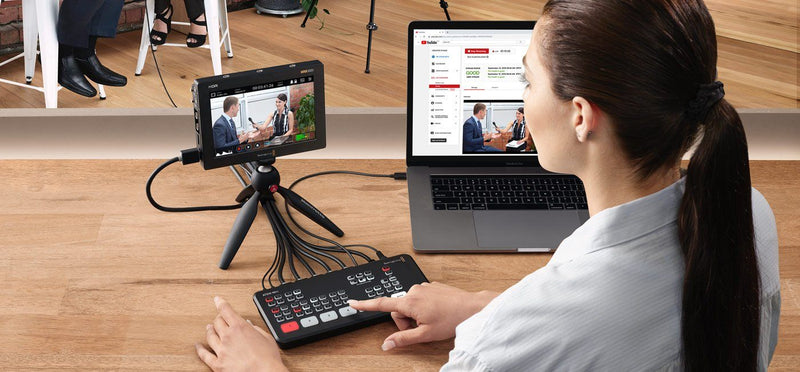 Blackmagic Design ATEM Mini Switcher USB Live Streaming para 4 Cámaras HDMI Blackmagic Design