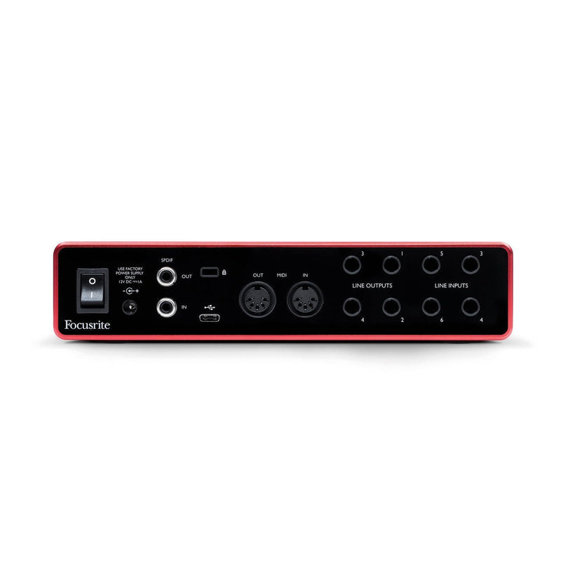 Focusrite Scarlett 4i4 (3ra generación) Interfaz de Audio Interfaces FOCUSRITE