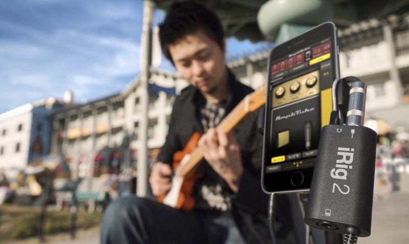 IK Multimedia iRig 2 Interfaz de Audio para Guitarra compatible con iOS Interfaces de Audio para Celulares IK Multimedia