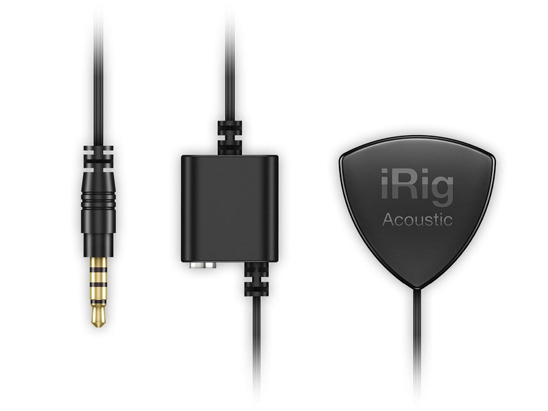 IK Multimedia iRig Acoustic Interfaz/Micrófono para Guitarra Acústica Interfaces de Audio para Celulares IK Multimedia