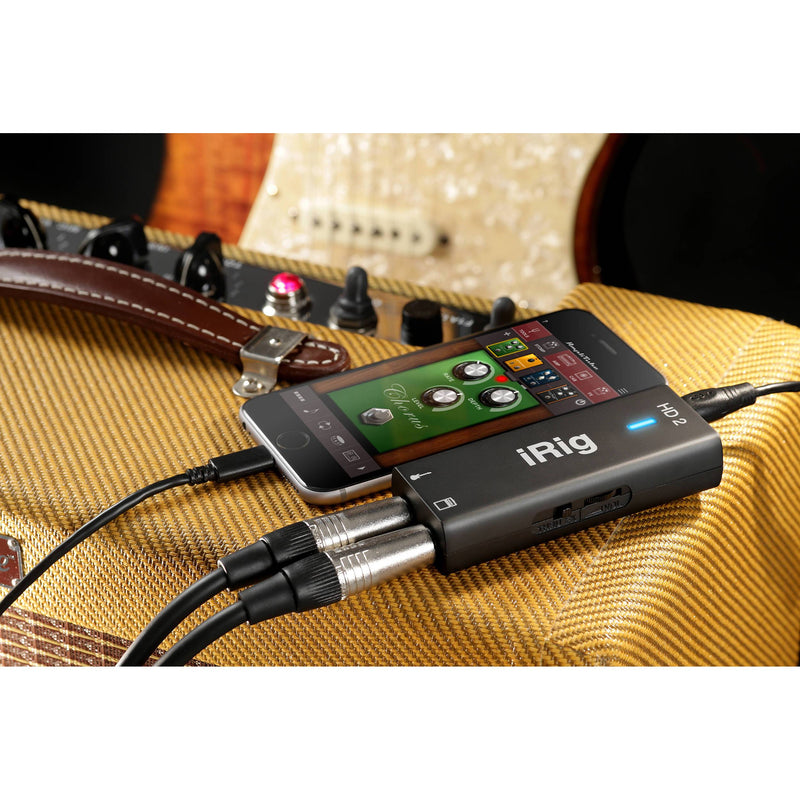 IK Multimedia iRig HD 2 Interfaz de Audio para Guitarra Interfaces de Audio USB IK Multimedia