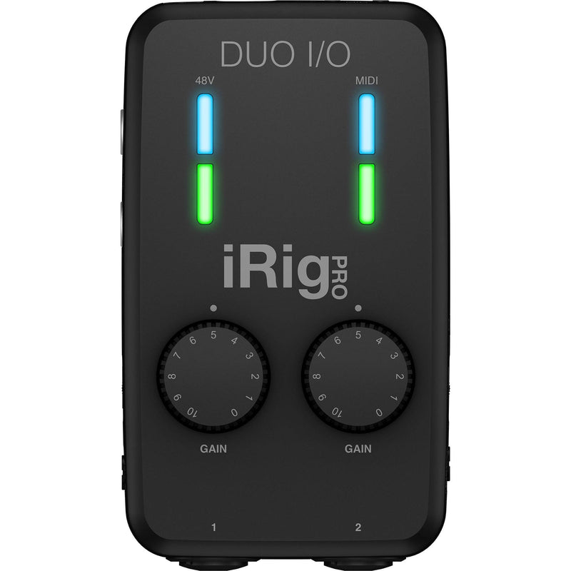 IK Multimedia iRig Pro Duo I/O Interfaz de Audio de 2 Canales para Celulares y Computadores Interfaces de Audio para Celulares IK Multimedia