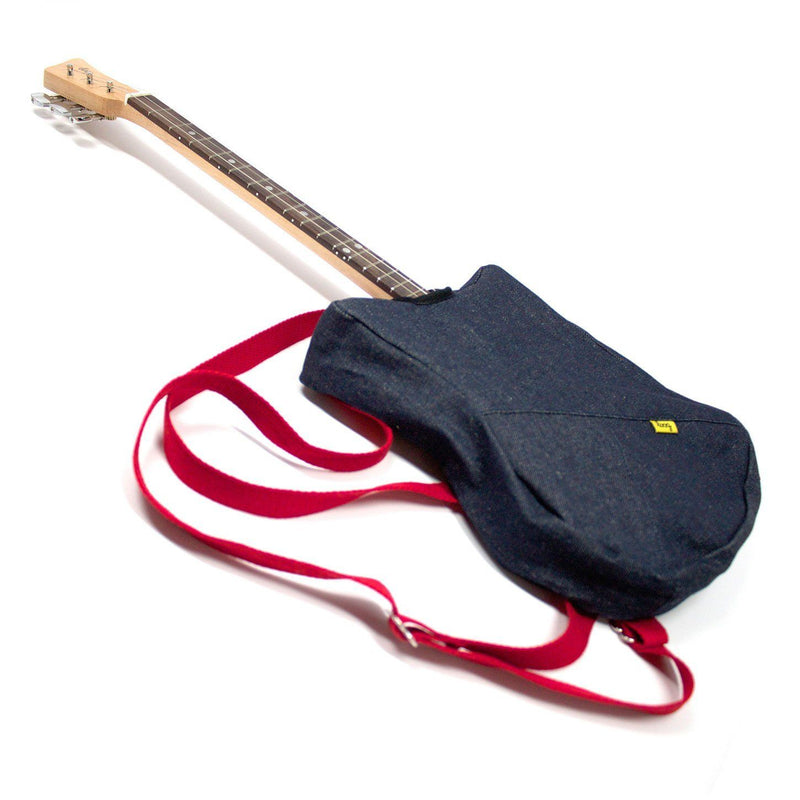 Loog Mini Backpack Denim Funda de Guitarra Loog Mini StudioKids Loog Guitars