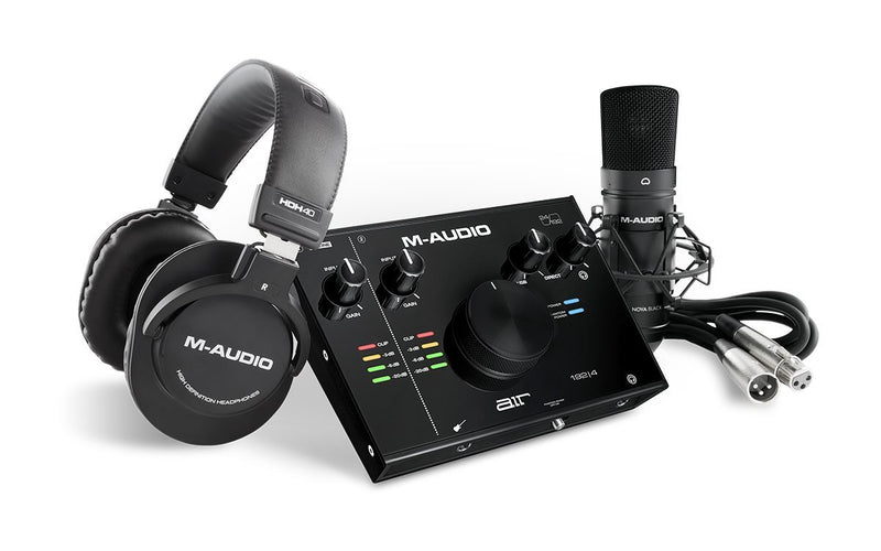 M-Audio AIR 192|4 Vocal Studio Pro Pack de Grabación Packs de Grabación M-Audio