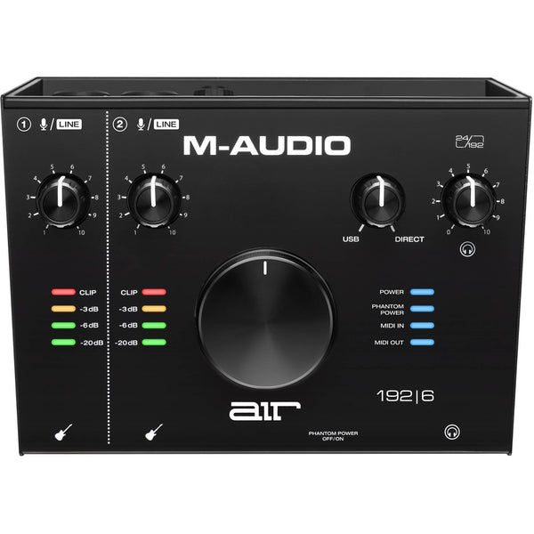 M-Audio AIR 192|6 Interfaz de Audio USB Interfaces de Audio USB M-Audio