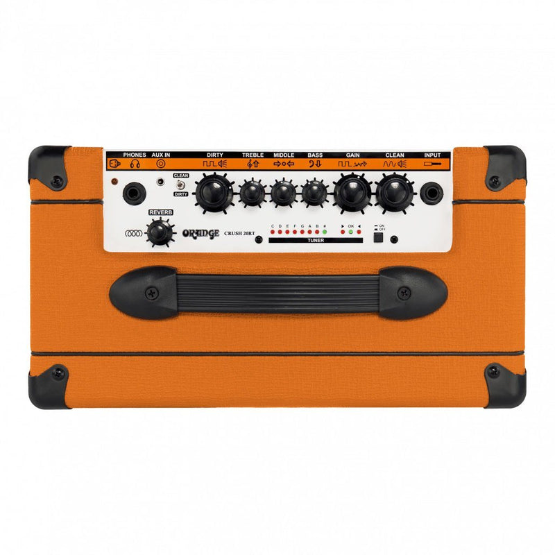 "Orange Crush 20RT Amplificador de Guitarra Combo 20watts 1x8"" Amplificadores de Guitarra Orange"