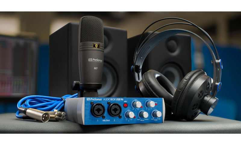 PreSonus Audiobox Studio Ultimate Bundle Pack de Grabación Packs de Grabación PreSonus