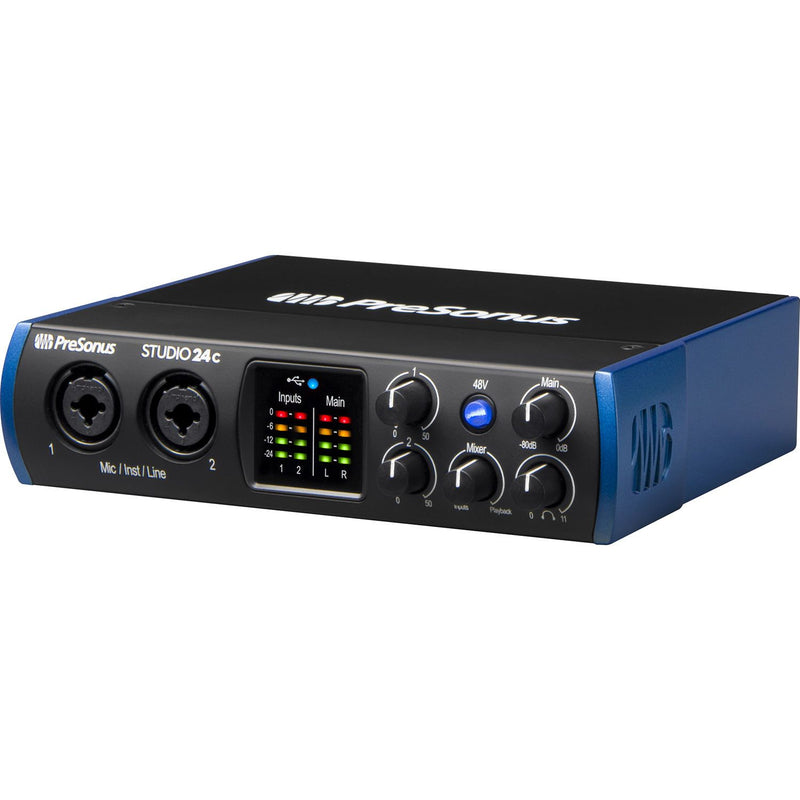 PreSonus Studio 24c Interfaz de Audio Interfaces de Audio USB PreSonus