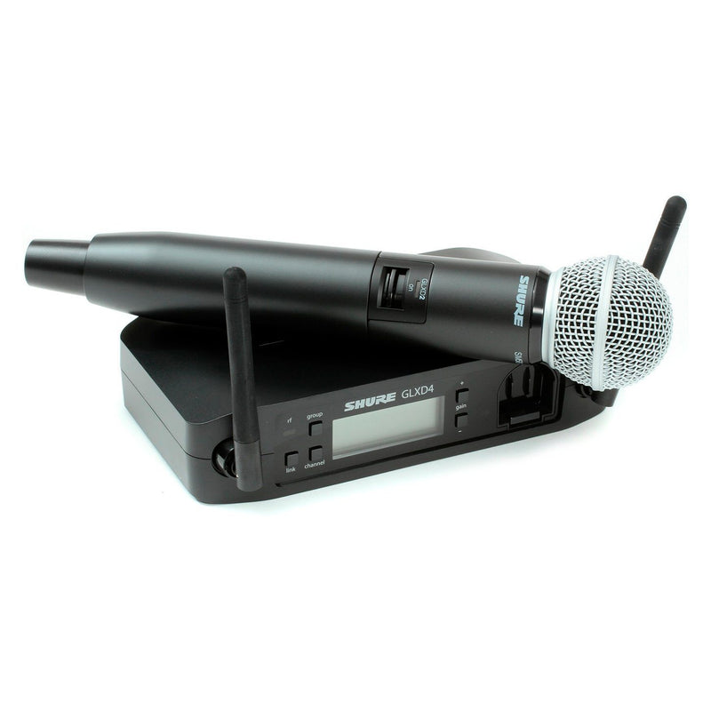 Shure GLXD24R/SM58 Sistema Inalámbrico TV, Audio y Video / Audio / Accesorios de Audio / Micrófonos SHURE