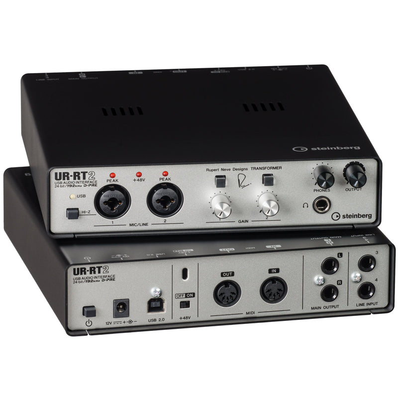 Steinberg UR-RT2 Interfaz de Audio con Transformadores Rupert Neve Interfaces de Audio USB Steinberg