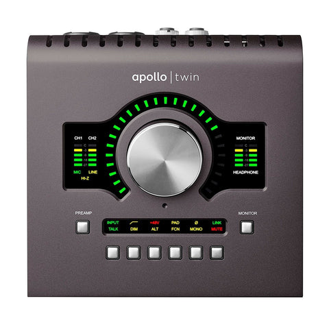 Universal Audio Apollo Twin MKII DUO Interfaz 2x6 Thunderbolt