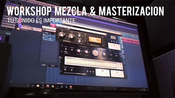 Workshop de Mezcla y Masterización Cursos StudioMusic.cl
