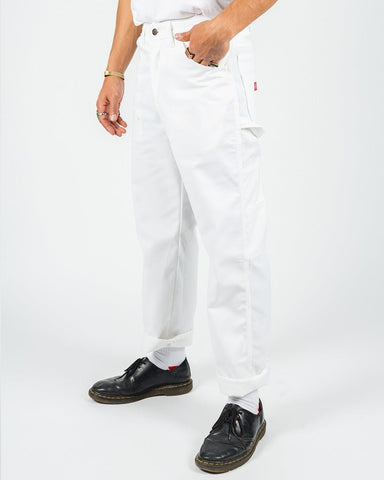 Dickies RELAXED FIT UTILITY PANT 1953 White