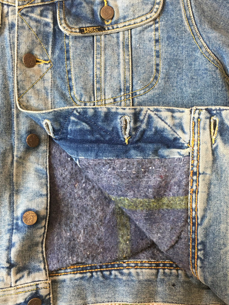 Vintage Lee Stormrider Denim Jacket