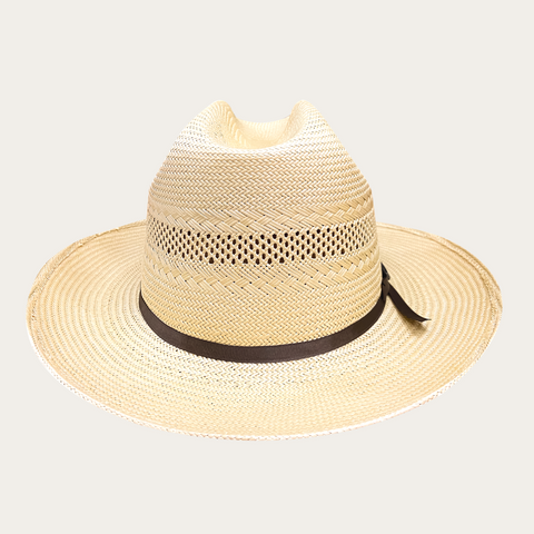 Stetson SAVANNAH WAY | OPEN ROAD VENTED STRAW | Natural
