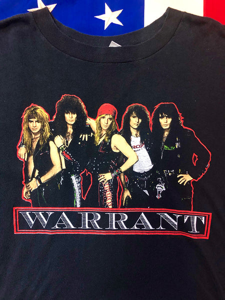 Amazing 1980s Warrant T-shirt