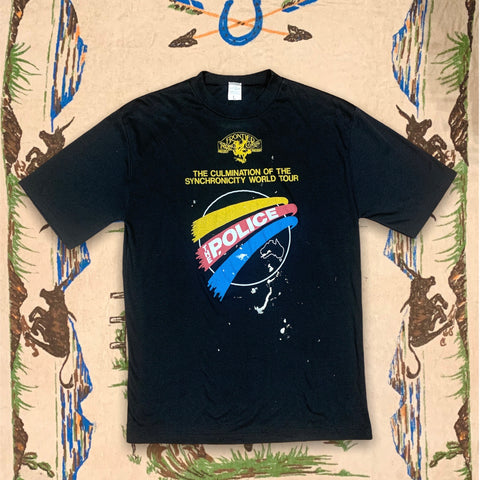 84' Vintage The Police Tour  T-shirt