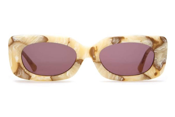 Crap Eyewear - The Supa Phreek (Cream Marble)