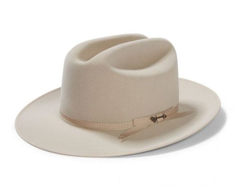 Stetson OPEN ROAD ROYAL DELUXE | 6X Quality | Silverbelly