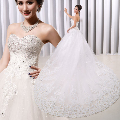 Fantastic Tulle A-line Wedding Gown